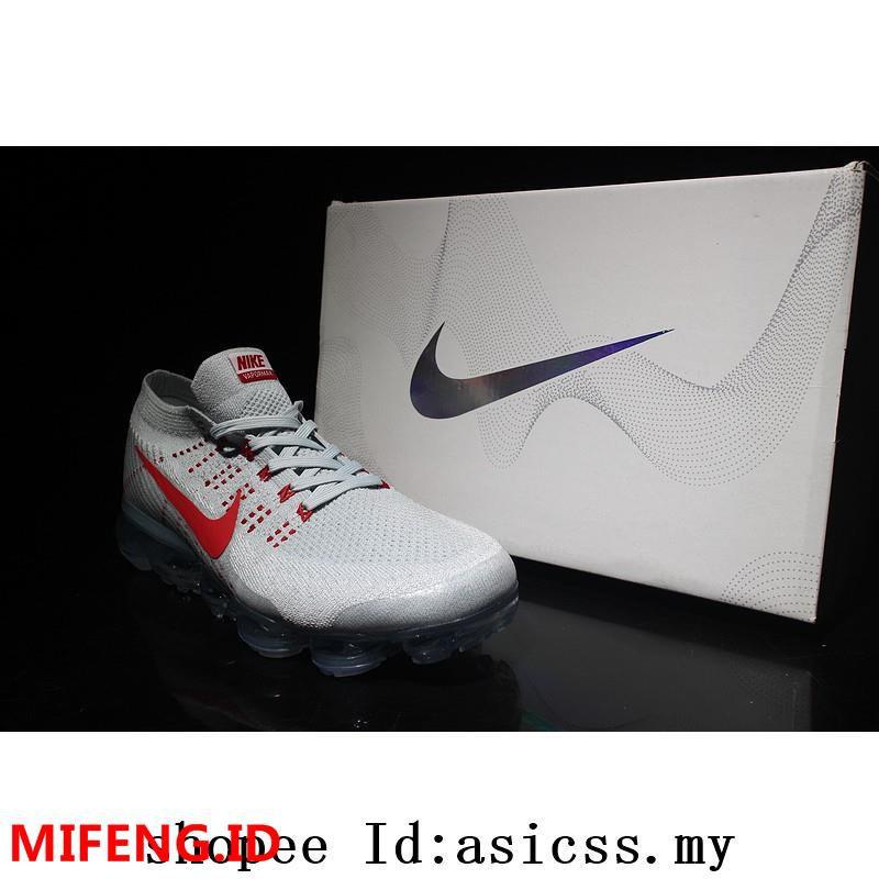 Sepatu Sneakers Desain Air VaporMax Tanpa Tali untuk Lari aq0581-001-002 | Shopee