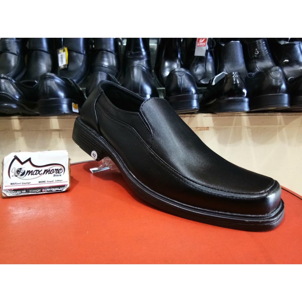 Dr Kevin Men Shoes 13301 2 Color Options Black Maroon Shopee Formal 13343 Indonesia