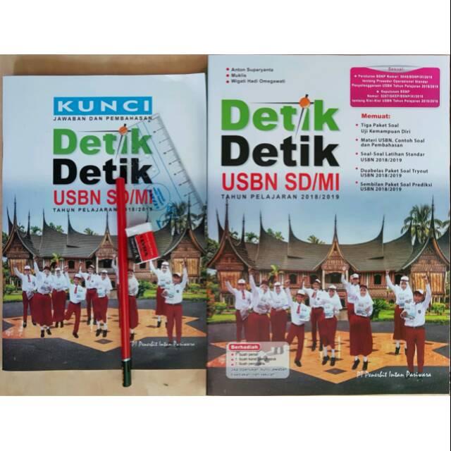 Buku Detik Detik Usbn Sd Mi Tahun Pelajaran 2018 2019 Plus Kunci Jawaban Free Alat Tulis Shopee Indonesia