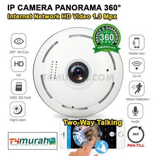 Ppp-360 Kamera IP Mini Tersembunyi 960P Panoramic 360 Derajat Wifi