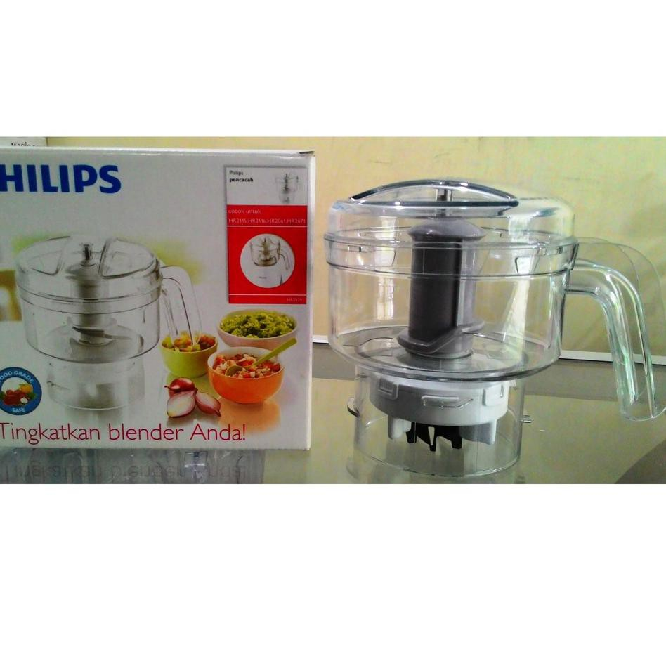 Keluaran Terbaru Chopper Penggiling Daging Blender Philips Hr2939 100 Ori Shopee Indonesia