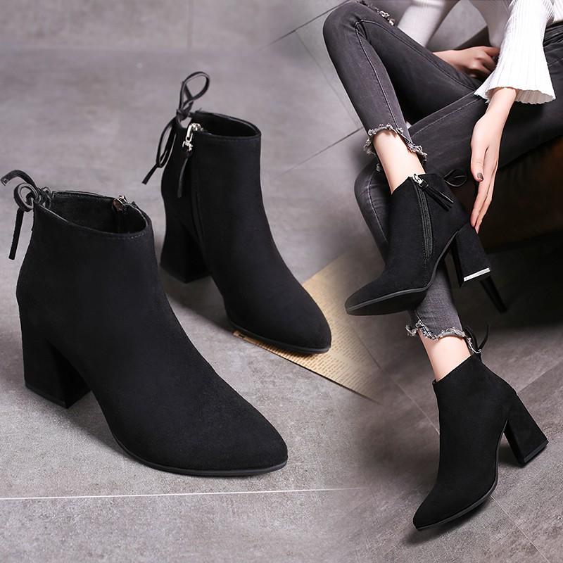 Harga Sepatu Boots Korea Terbaik Boots Ankle Boots Sepatu