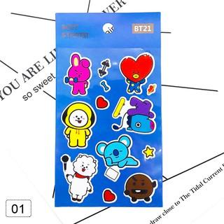 stiker dinding bahan tahan air gambar kartun chimmy shooky