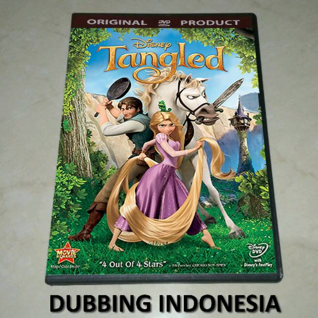 Dvd Tangled 2010 Shopee Indonesia