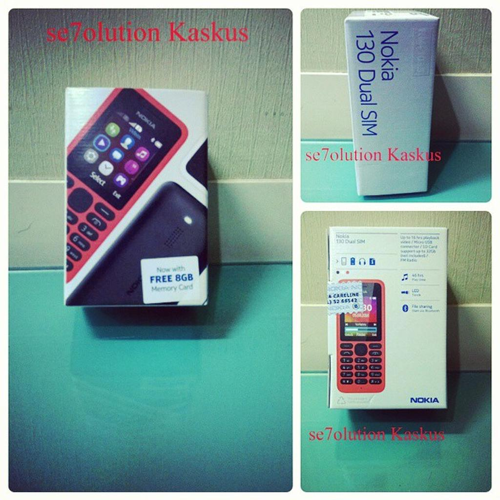 Nokia 130 New Dual Sim Shopee Indonesia Kamera