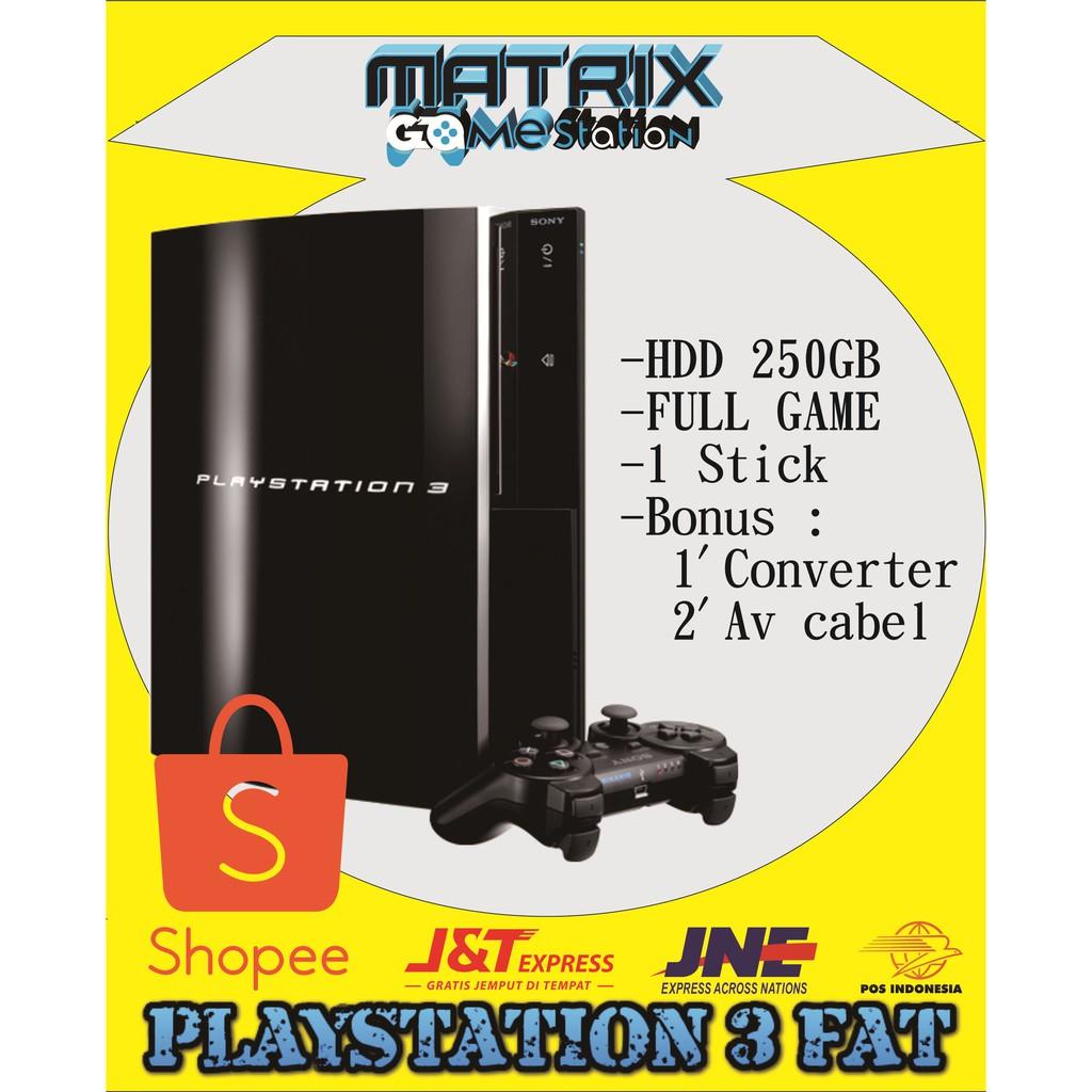 Ps4 Fat 500gb Original Sony Shopee Indonesia Playstation 3 120gb Hdd500gb 2 Stick Controller