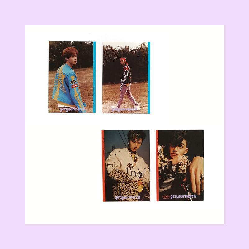 WAYV KICK BACK POSTCARD ONLY - STRANGER & HITCHHIKER VER / kun ten lucas yangyang album photocard pc