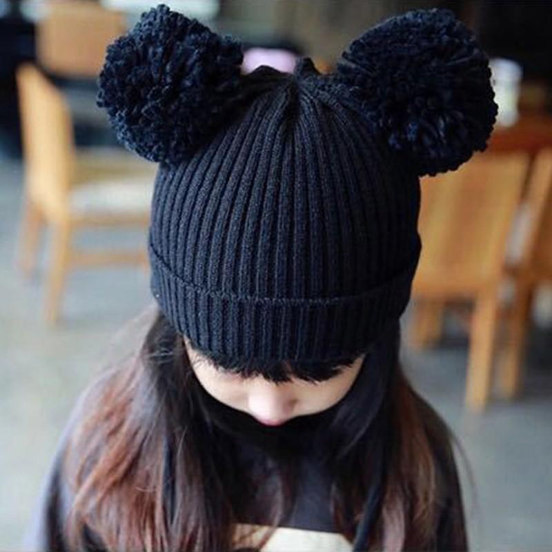 Cute Toddler Kids Girls Boys Infant Winter Warm Baby Crochet Knit Hat Beanie Cap