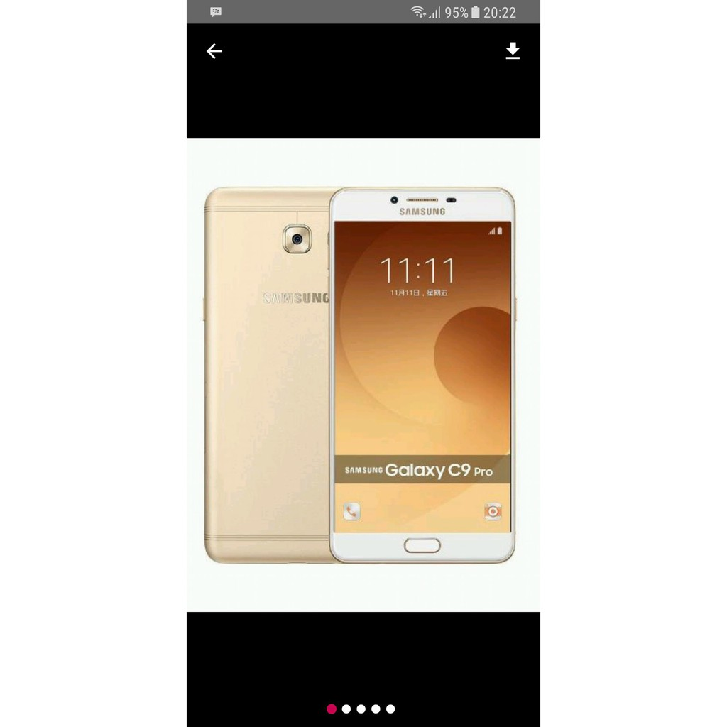 Samsung Galaxy C9 Pro Garansi Resmi Indonesia Sein Shopee J3 2017 4g