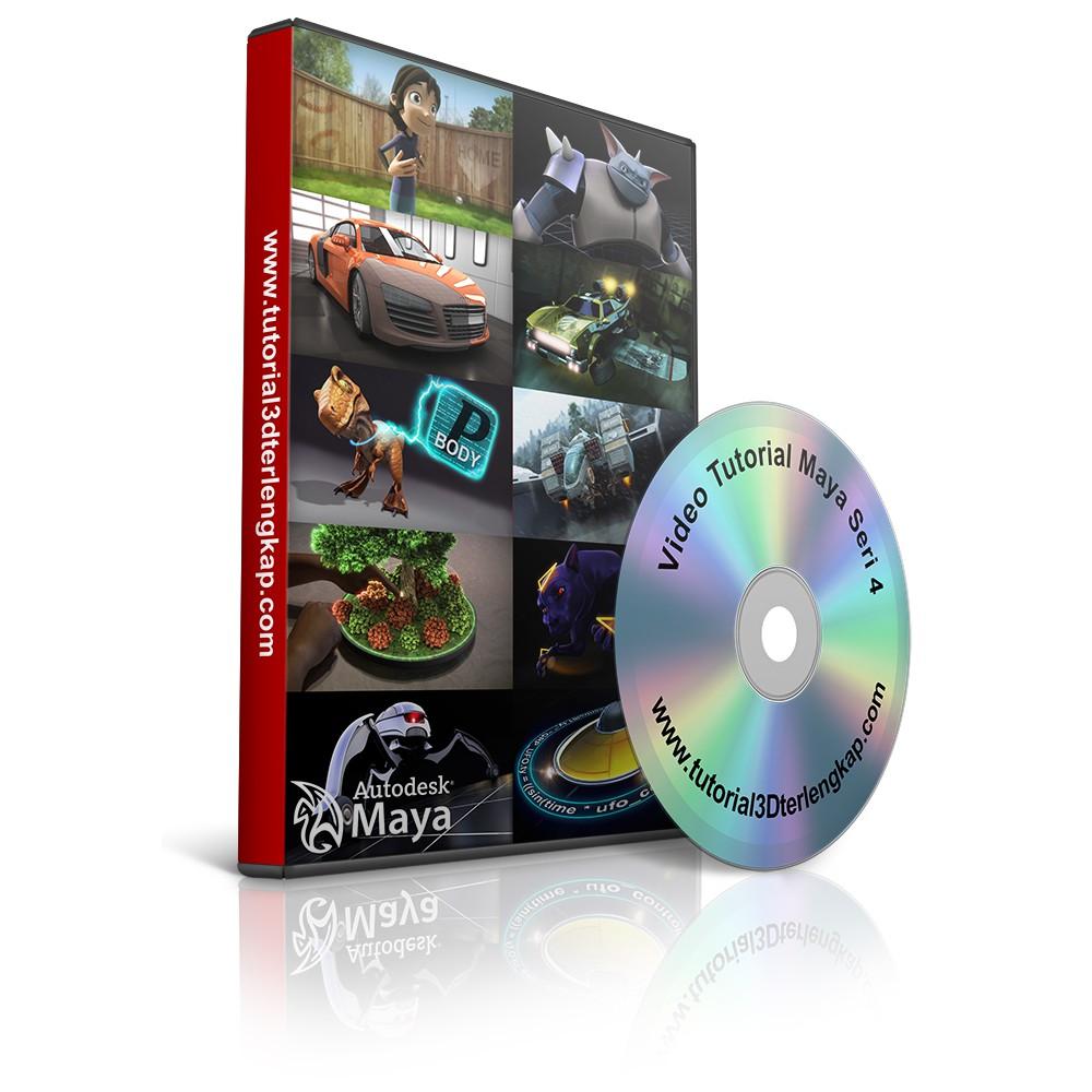 Video Tutorial Autodesk Maya Seri 4