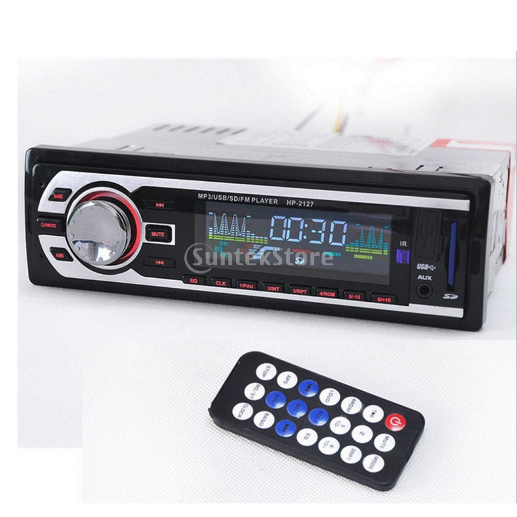 8027bt Bluetooth Audio Stereo Fm Usb Sd Mp3 Player 1din 12v Transmitter Mobil Dgn Card Slot Free Aux Kabel Transmiter Modulator Shopee Indonesia
