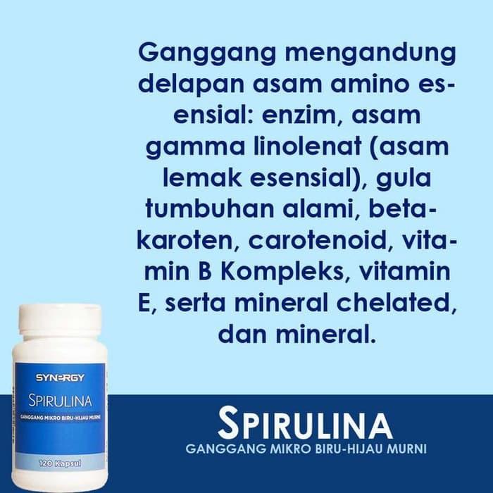 Terpercaya Ampuh Klorofil Spirulina Suplemen Makanan Atau