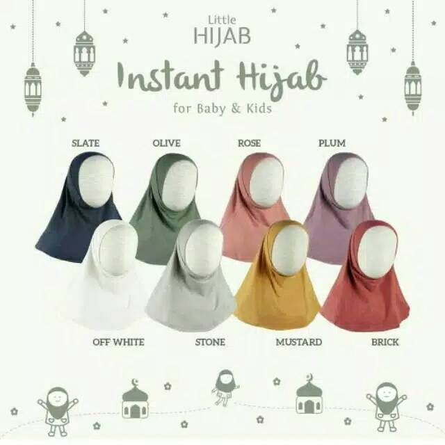 Little Palmerhaus Instant Hijab (Hijab Anak) | Shopee