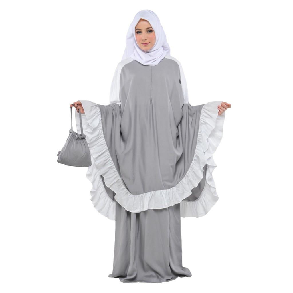 Mukena Tatuis Tiara 268 Orange Shopee Indonesia 312 Broken White