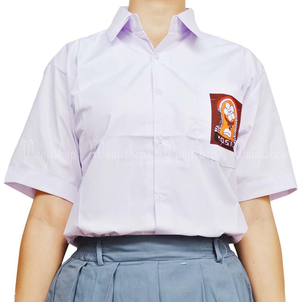 Seragam SMA 14 - 20 | baju seragam sekolah | atasan sekolah | baju ...