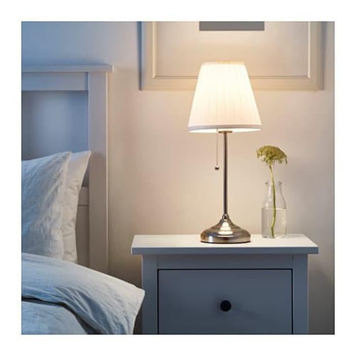 Lampu Meja Tidur IKEA ARSTID Lampu Penerangan Ka H:48617 | Shopee Indonesia