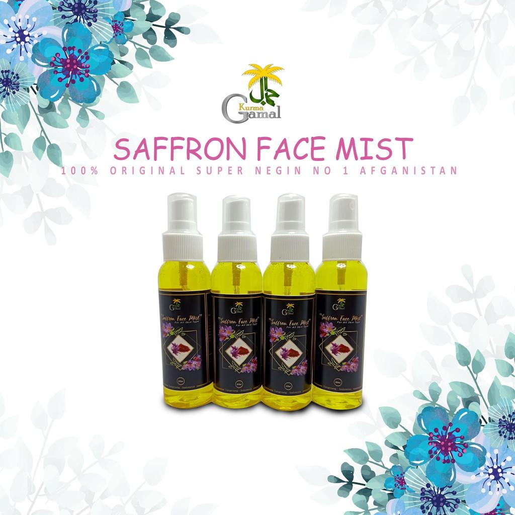 Safron Face Mist 100ml Saffron Beauty Toner 100 Original Super Negin No 1 Afganistan Shopee Indonesia