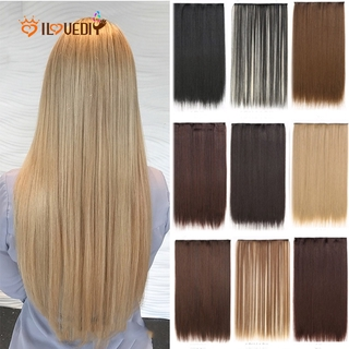 [Women Sexy Long Straight Hair Extension] [Ladies Natural Looking Curly Synthetic Hairpiece] thumbnail