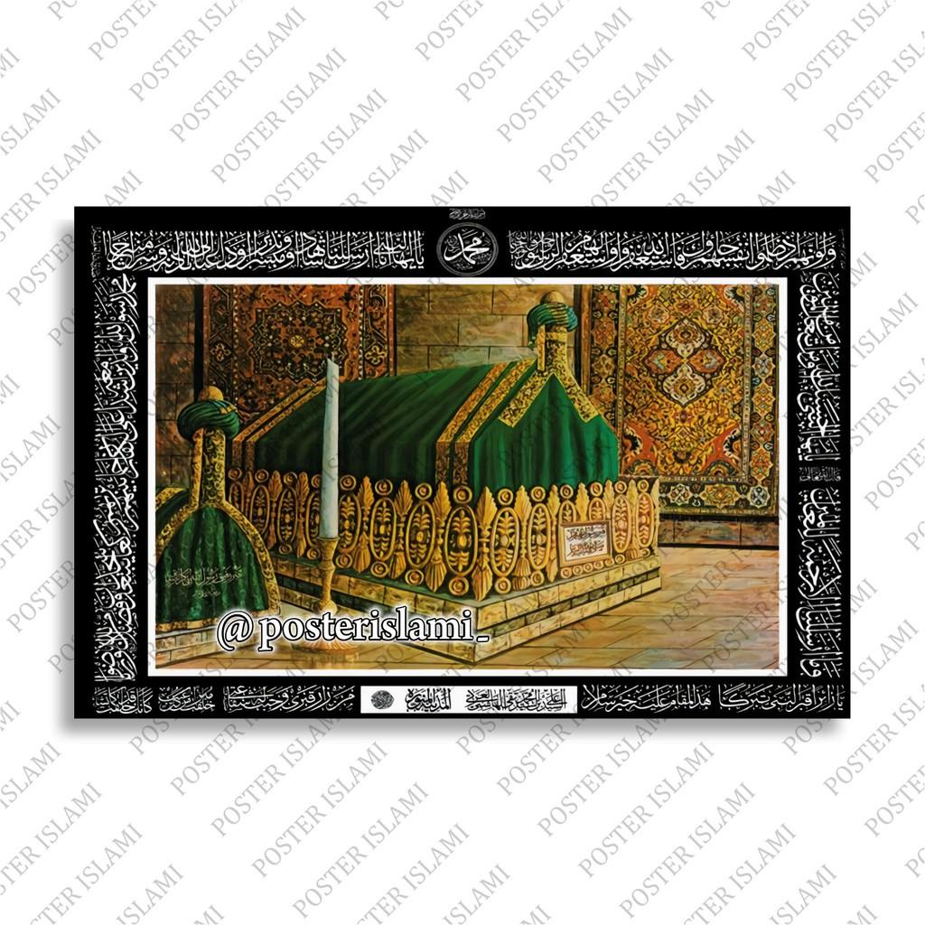 Poster - Makam Nabi Muhammad Rasulullah SAW
