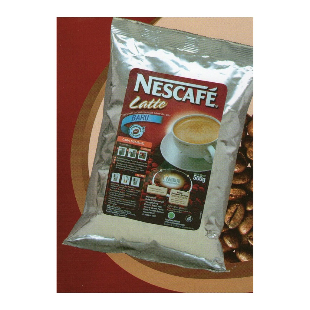 Up To 21 Discount From Brand Nescafe Nestle Cappucino Caramel Pro 500gr Latte By Professional Ala Cafe 50