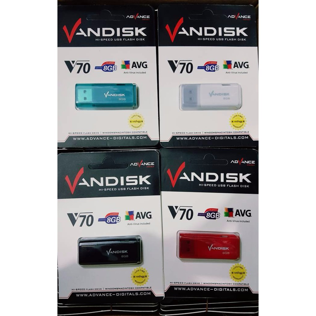Vandisk V70 Flashdisk 16gb Shopee Indonesia Fd