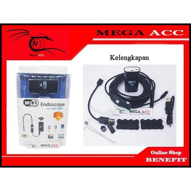 Terlaris Wifi Endoscope Camera 5 Meter Hd 720P 8Mm Lens