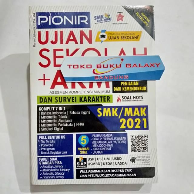 Pionir Ujian Sekolah Akm Smk Mak 2021 Asesmen Kompetensi Minimum Bank Soal Pembahasan Smk 2021 Shopee Indonesia