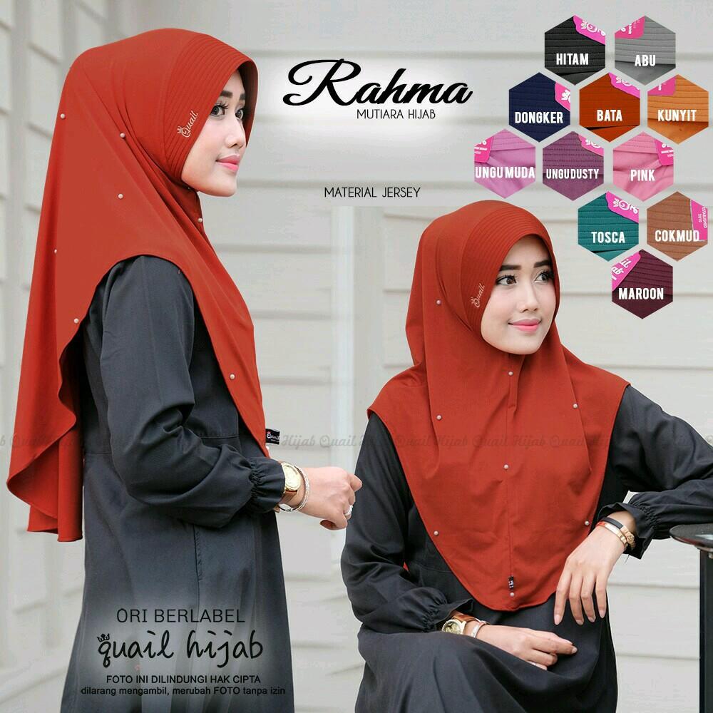 Murah Quail Hijab Ori Melati Kids Instan Jilbab Instant Tajmahal Double Layer Kuncir Khimar Fashion Muslim
