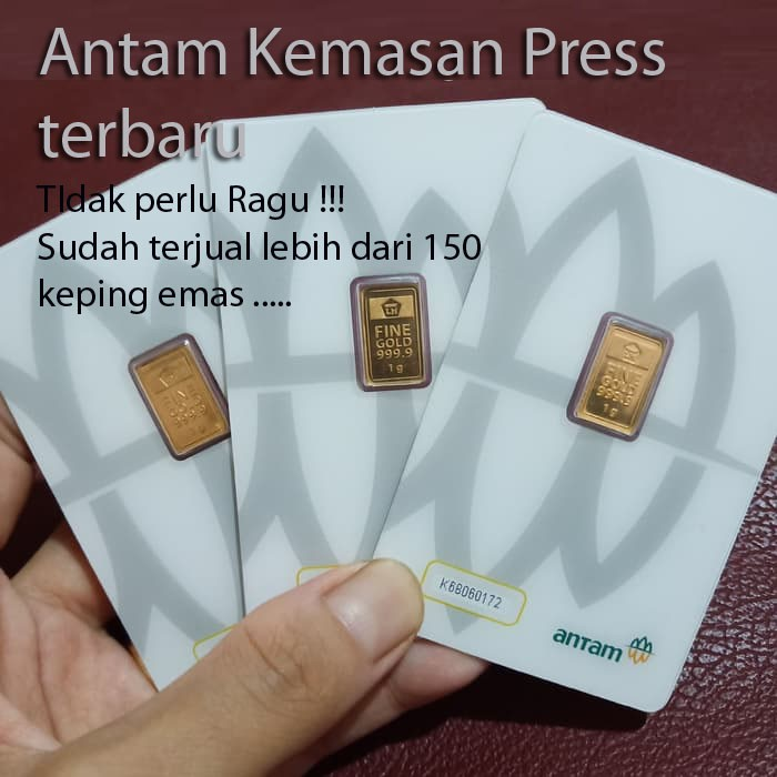Emas Antam 1 Gram Logam Mulia Antam 1 Gram Lm 1gr Terima Buy Back Shopee Indonesia