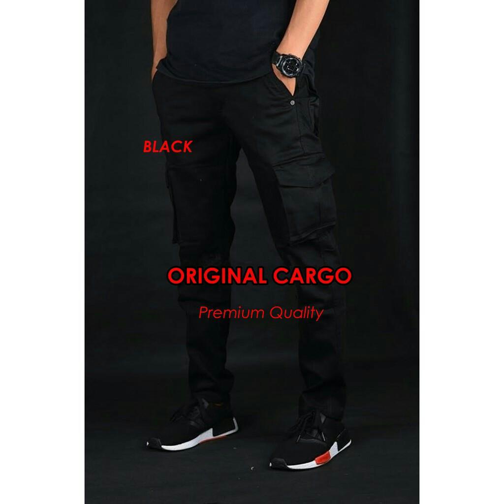 Celana Cargo Kargo Chino Pria Geamour 100 Original Distro Premium Pendek Burgelkill Kantor Santai Formal Semi Shopee Indonesia