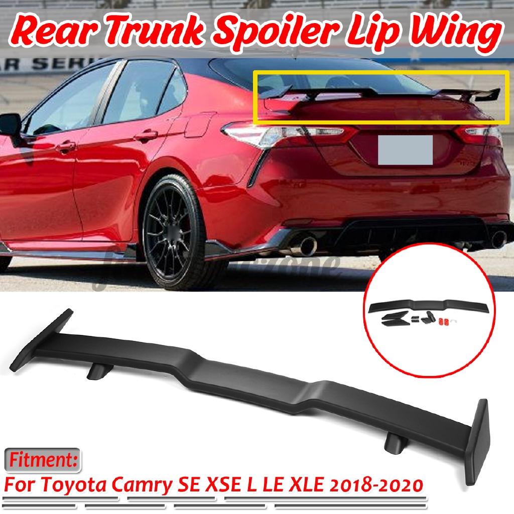 For Honda Accord 10th Gen 2018 2020 Rear Trunk Lip Spoiler Wing Matte Black Shopee Indonesia