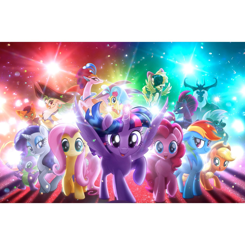 Wallpaper 3d My Little Pony 11492 Shopee Indonesia