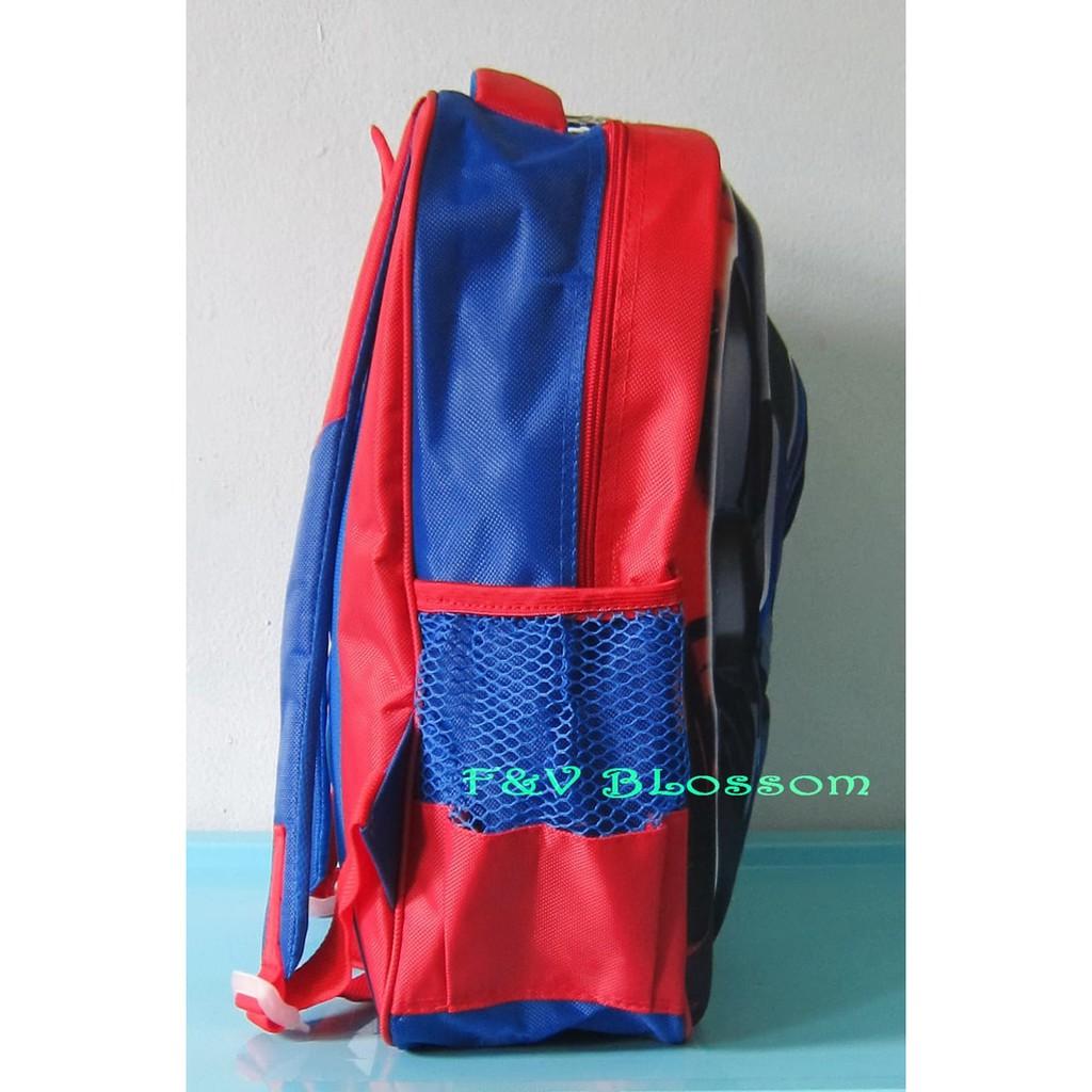 Murah Meriah Tas Ferrari Anak Laki Merah Cbr Six Dic 423 Sekolah Motif Spiderman Bertopi Ransel