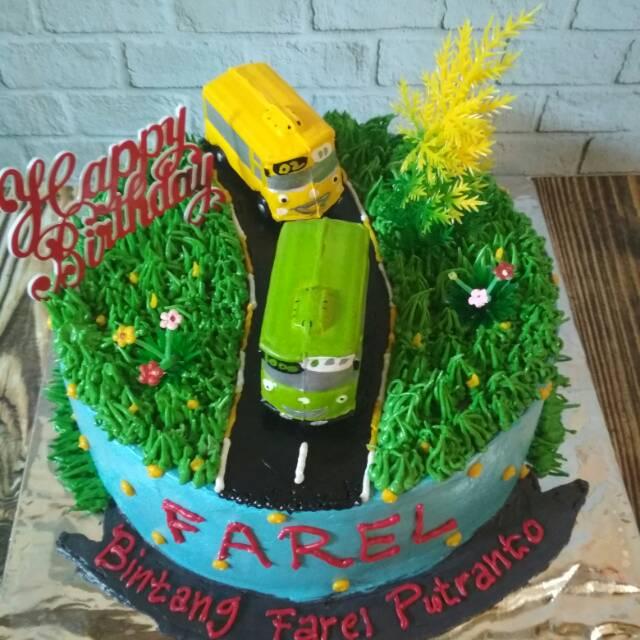 Cake Ultah Cake Tayo Kue Ultah Karakter Shopee Indonesia