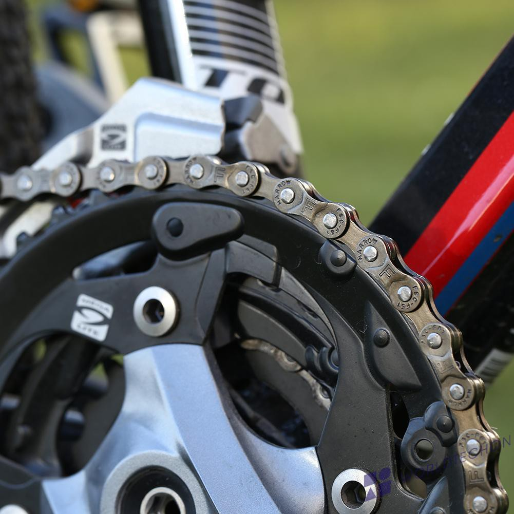 98 Links Fixed Gear Bicycle Chain Single Speed Bike Chain With Chain Connector