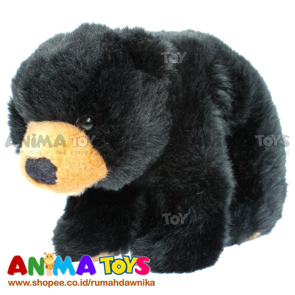 Sunbear Stuffed Animal, Boneka Hewan Beruang Madu Sun Bear Animatoys Swi007 Shopee Indonesia