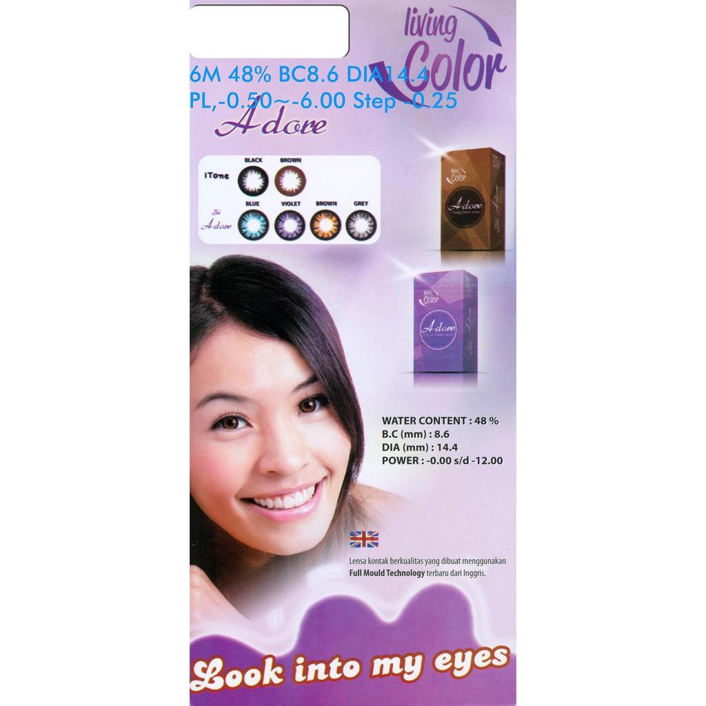 Terlaris Softlens Manga Shin Big Eyes 155mm Softlense Exoticon X2 Soflen Lensa Kontak Hot Shopee Indonesia