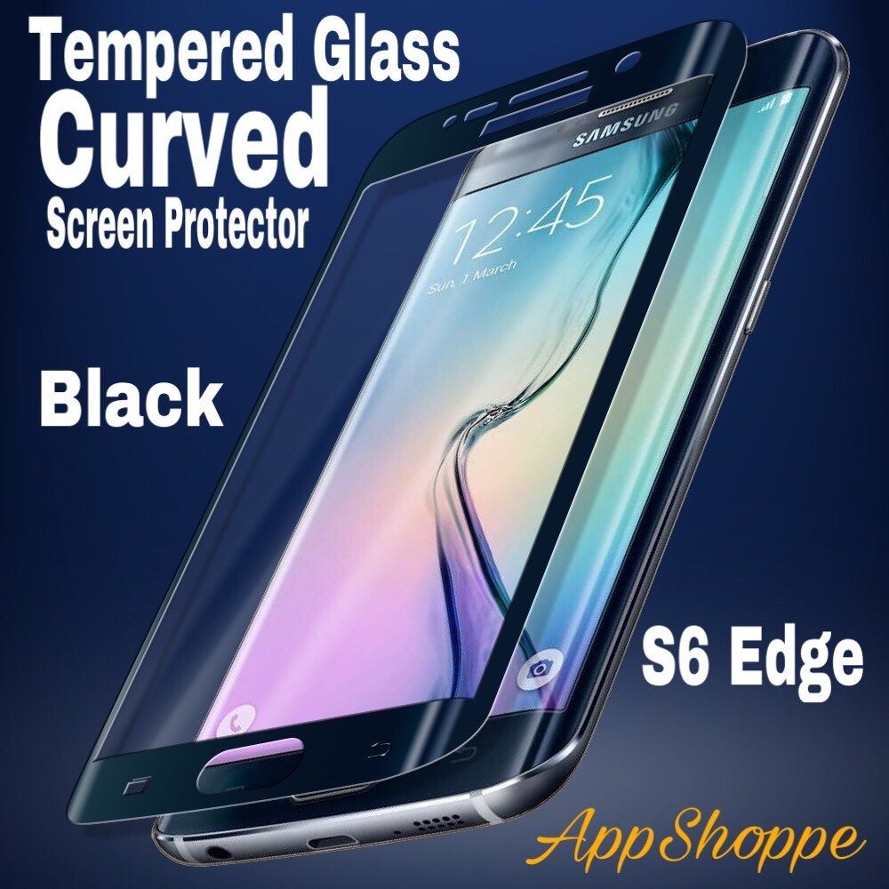 Tempered Glass Premium Samsung Galaxy S6 Edge Full Coverage Black Mouse Double Lens Micropack Mp Y212r Grey Shopee Indonesia