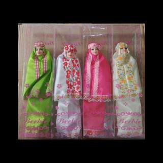 Boneka Barbie Barbiean Boneka Mukena Harga 1pcs Shopee Indonesia