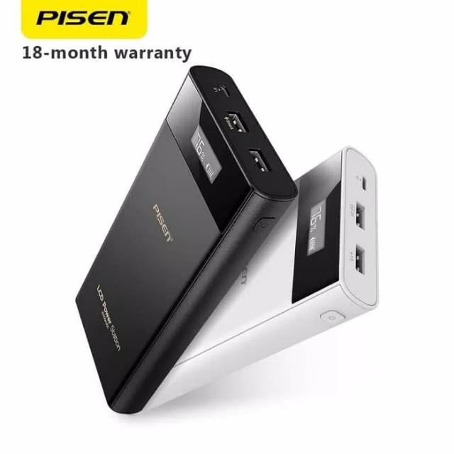 Pisen powerbank 20000 mah fast charging original