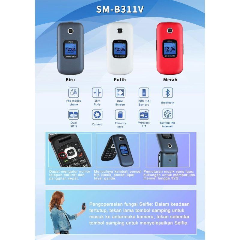 Handphone Samsung lipat GM B311V Hp samsung B311 lipat