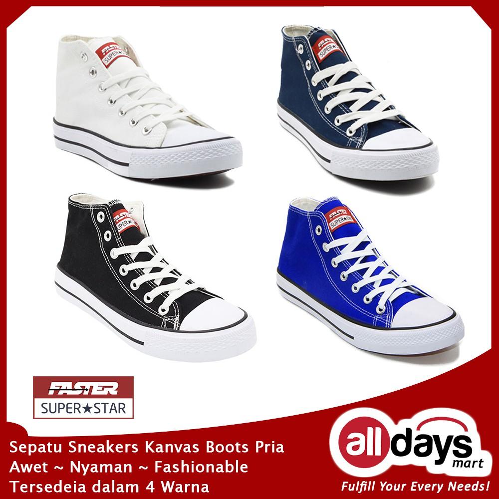 Sepatu Kets Adidas Pria Hitam 39-43 TERMURAH  ea027e18ab