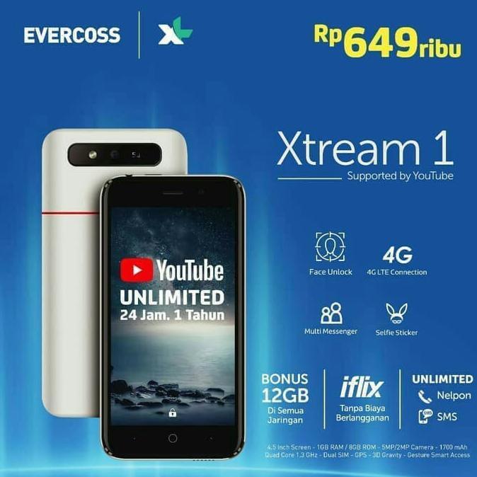 Smartphone Evercoss ...