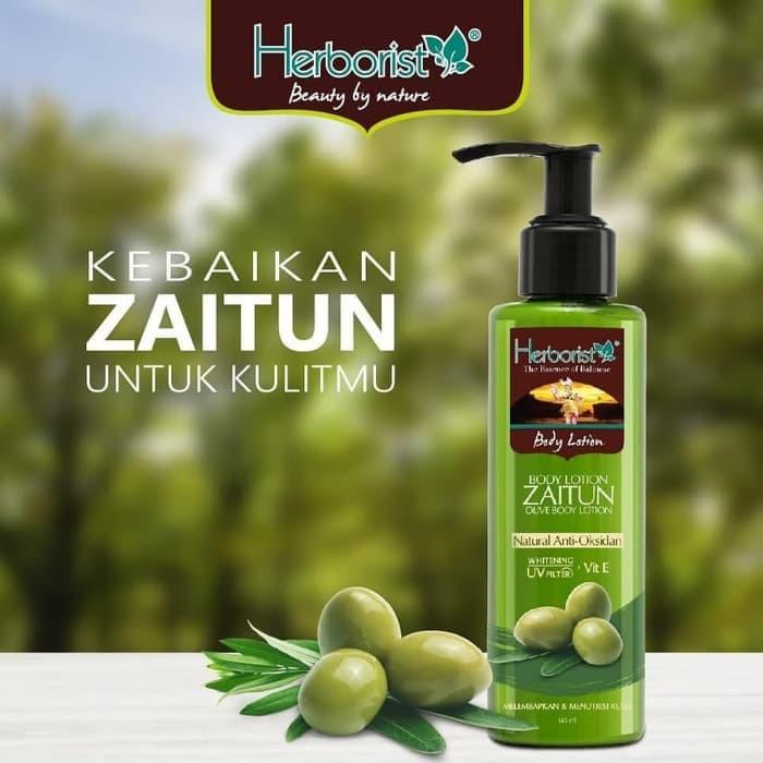[BPOM] HERBORIST Zaitun Series - Body Wash / Shampoo / Lotion / Sabun Wajah / Minyak 75ml / 150ml-3