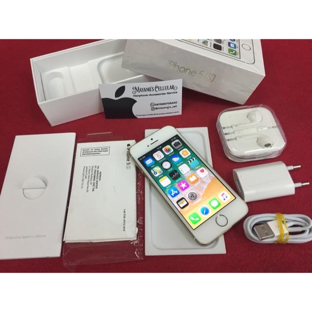 Iphone 5s 40 32gb 41 2nd Original Garansi 1bulan Grey Bukan