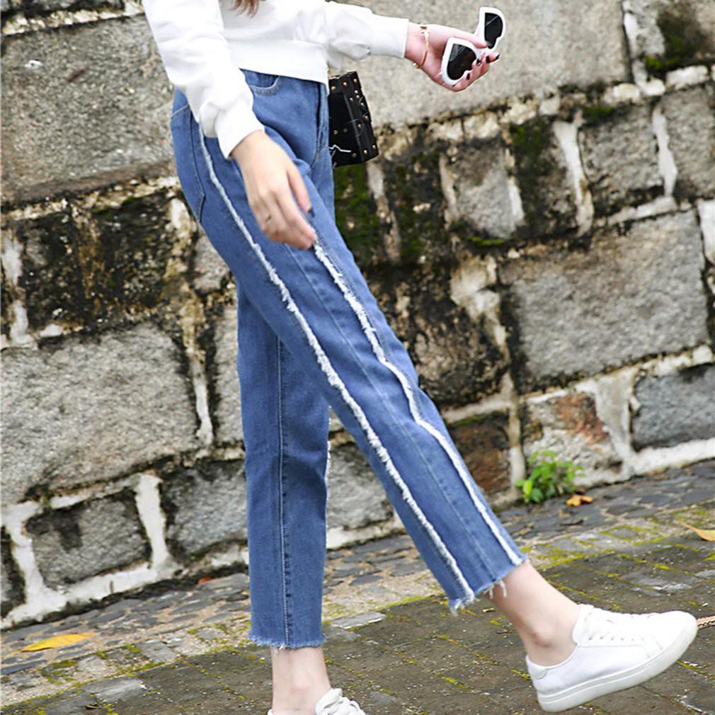 [Bayar Di Tempat]Celana Panjang Jeans Skinny High Waist   Shopee Indonesia