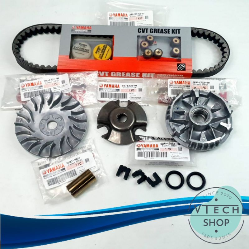 Paket CVT Mio Sporty, Mio Soul, Fino, Nouvo - Original Yamaha