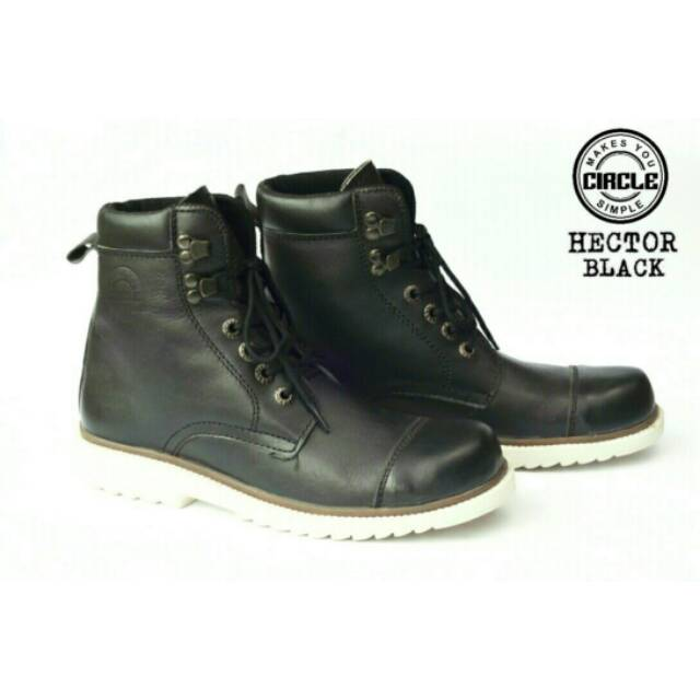 Sepatu Boots Circle Hector For Men Sepatu Safety Boots Outdoors Pria ... 3b80cade25