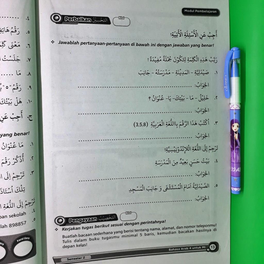 Jawaban Bahasa Arab Kelas 8 Guru Galeri
