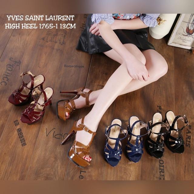 Yves saint laurent high heel shoes 1765-1  4902f5fec5
